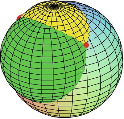 The intersection of three spheres in R3 contains at most two points.jpg