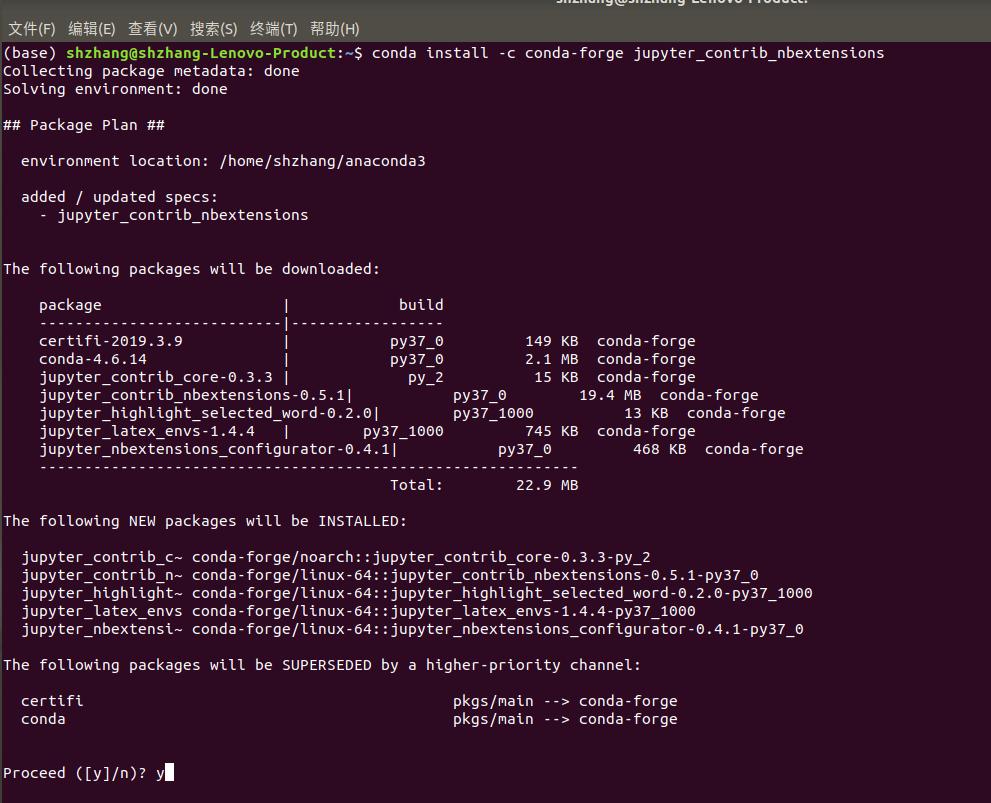 科学网—Python jupyter notebook install Extensions-可以给出每行代码的