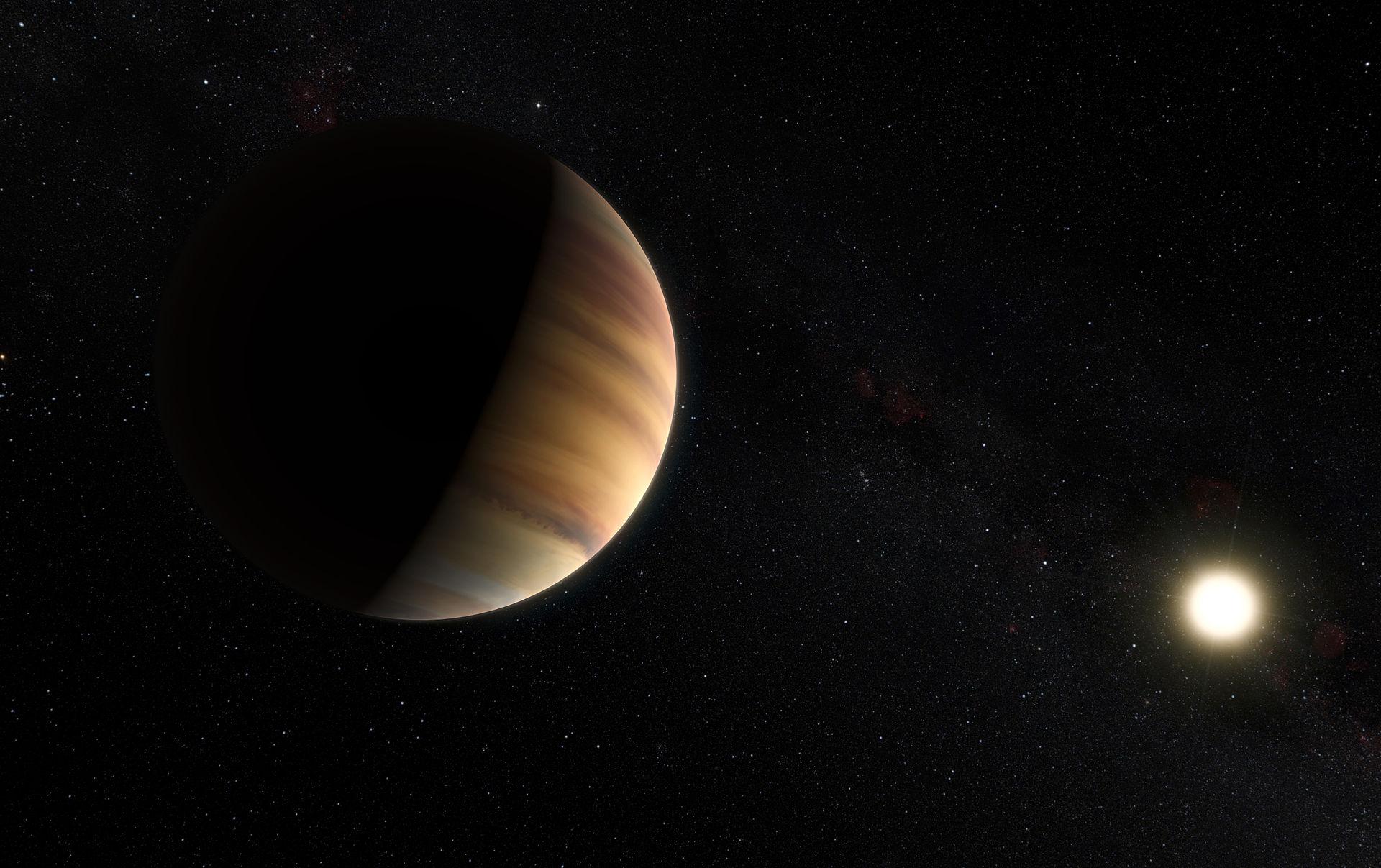 图7-系外行星飞马座51b和它的主星的艺术想象图.jpg