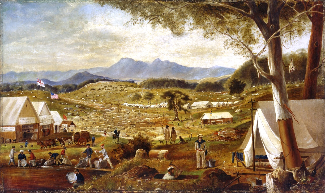 Edward_Roper_-_Gold_diggings,_Ararat,_1854.jpg