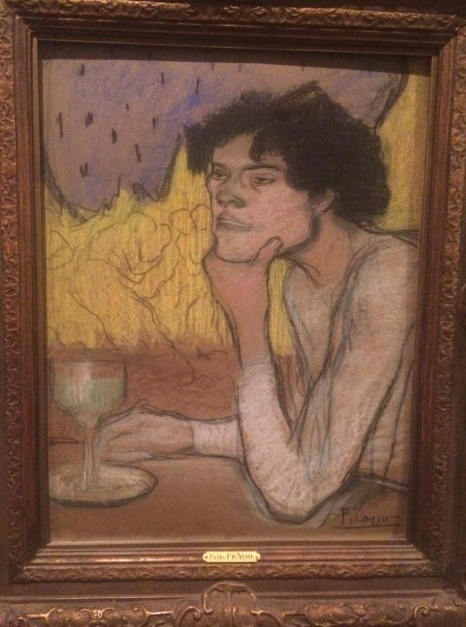 圣彼得堡埃尔米塔日博物馆:毕加索的画1.jpg