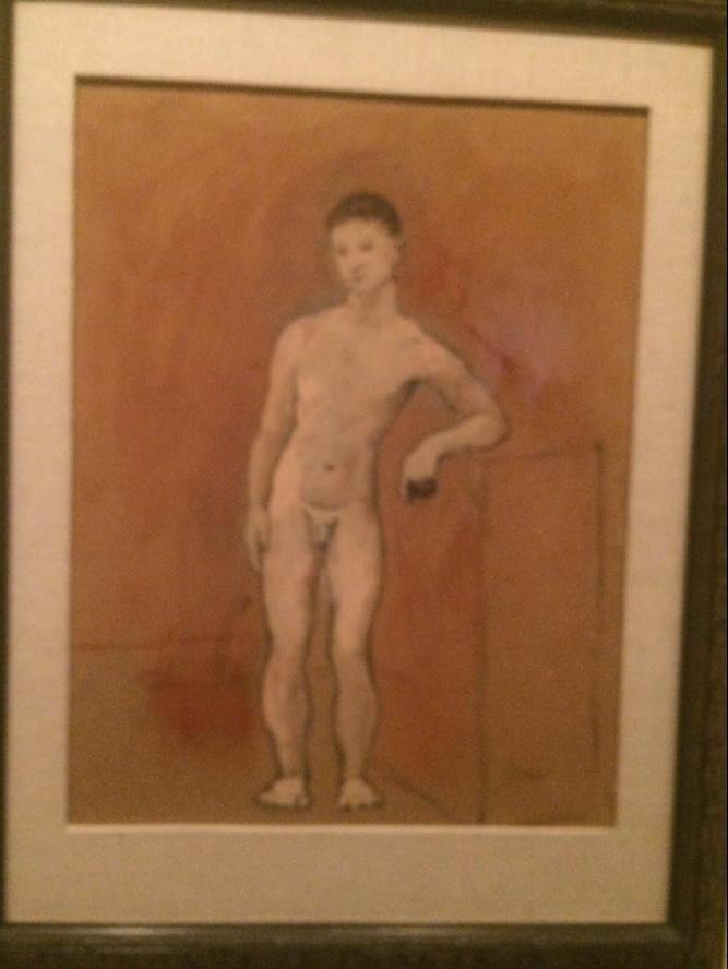 圣彼得堡埃尔米塔日博物馆:毕加索的画2.jpg