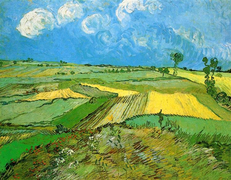 van Gogh 1890 Wheat Fields at Auvers Under Clouded Sky.jpg