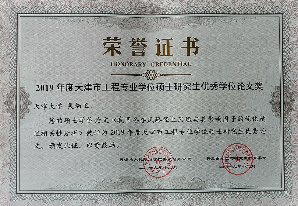 2019年度天津市工程优硕证书 吴炳卫_副本.jpg