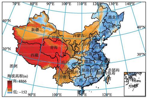 中国气象科普网 2018-03-17 地势阶梯分界线.jpg