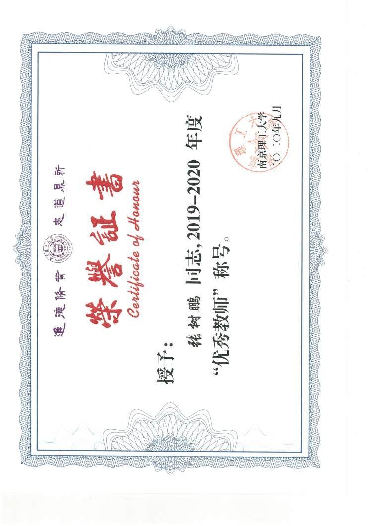 张树鹏-2020南京理工大学优秀教师.jpg