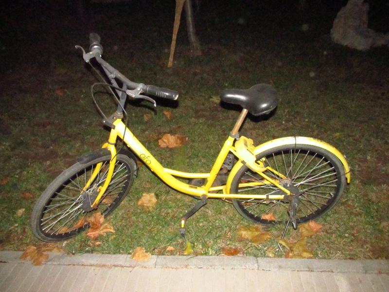 4辆被遗弃的OFO黄色自行车(2018秋,北洋园) 07 IMG_8678_副本.jpg
