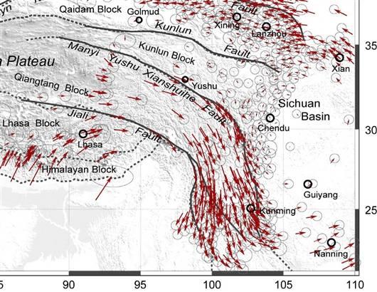 龙门山断裂带-科学网 汶川地震监测预报应该正视的问题 葛肖虹的博文图片