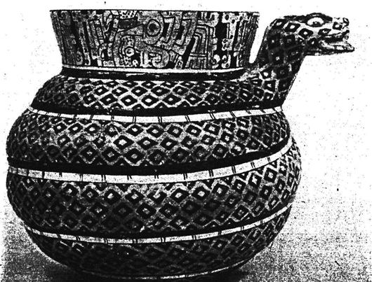 古代陶罐yunduo花纹素材