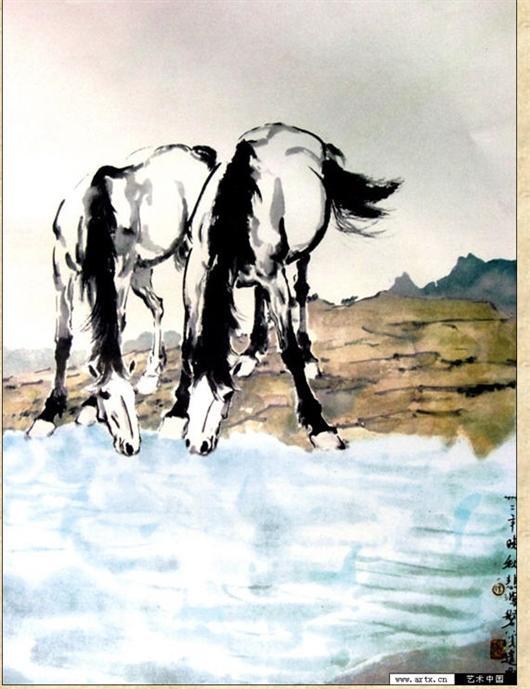 徐悲鸿画了哪些马 想知道徐悲鸿画这些马的时期图片