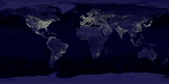 科学网―卫星图像里的地球之夜