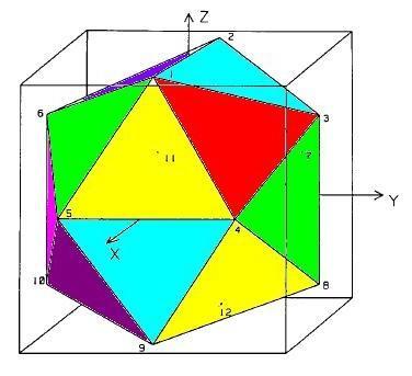 在魔方立方体的框架下