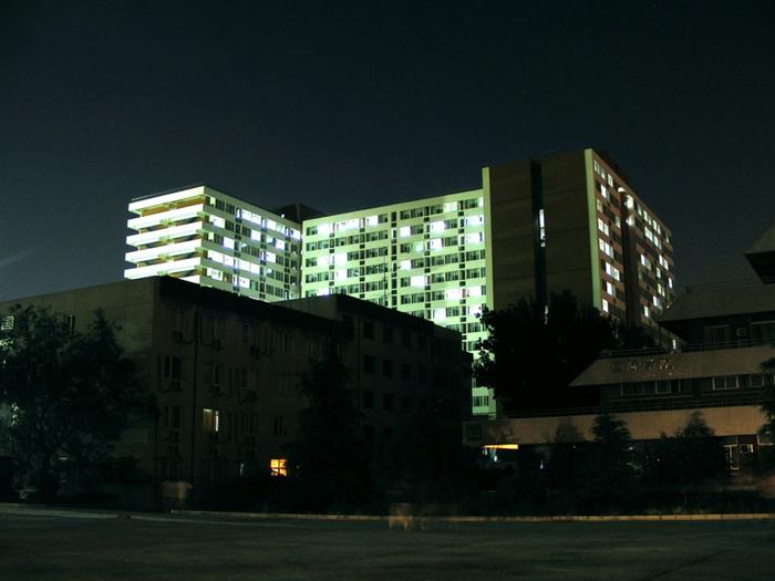云的博客 中国农业大学美景 三 夜景图片