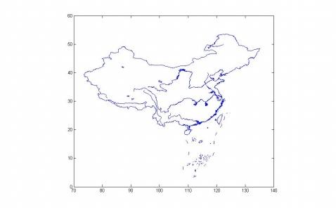科学网—matlab绘制中国地图